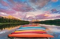 PGM Hu Yiming - Kayaks Kunstdruk 91x61cm