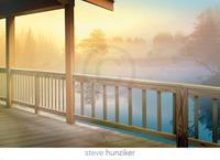 PGM Steve Hunziker - Lodge Deck Kunstdruk 91x66cm