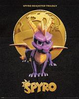Pyramid Spyro Golden Dragon Poster 40x50cm