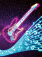 Wizard+Genius Kids Guitar Vlies Fotobehang 192x260cm 4-banen