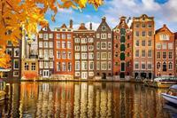 Dimex Houses in Amsterdam Vlies Fotobehang 375x250cm 5-banen