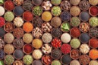 Dimex Spice Bowls Vlies Fotobehang 375x250cm 5-banen