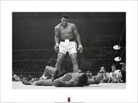 Pyramid Muhammad Ali v Liston Kunstdruk 60x80cm