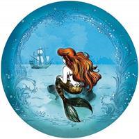 Komar Ariel Dreaming Zelfklevend Fotobehang 125x125cm rond