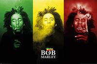 Pyramid Bob Marley Tricolour Smoke Poster 91,5x61cm