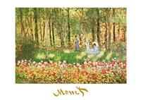 PGM Claude Monet - La famille d'artiste Kunstdruk 70x50cm