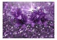 Artgeist Masterpiece of Purple Vlies Fotobehang 100x70cm
