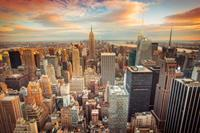 Papermoon Manhattan Centrum Vlies Fotobehang 250x180cm