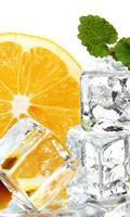 Dimex Lemon and Ice Vlies Fotobehang 150x250cm 2-banen