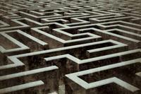 Dimex Labyrinth Vlies Fotobehang 375x250cm 5-banen