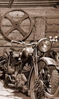 Dimex Vintage Garage Vlies Fotobehang 150x250cm 2-banen