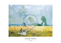 PGM Claude Monet - Printemps Kunstdruk 70x50cm