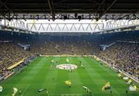 Wizard+Genius Borussia Dortmund Fan Choreo Fotobehang 366x254cm 8-banen