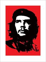 Pyramid Che Guevara Red Kunstdruk 60x80cm