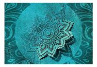Artgeist Azure Flower Vlies Fotobehang 200x140cm