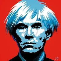 PGM Vladimir Gorsky - Andy Warhol Kunstdruk 85x85cm