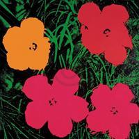 PGM Andy Warhol - Flowers C. 1964 Kunstdruk 60x60cm