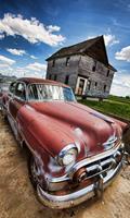 Dimex Veteran Car Vlies Fotobehang 150x250cm 2-banen