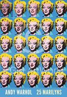 PGM Andy Warhol - 25 Colored Marilyns Kunstdruk 45x65cm