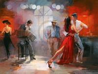 PGM Willem Haenraets - Tango Kunstdruk 80x60cm