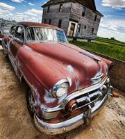 Dimex Veteran Car Vlies Fotobehang 225x250cm 3-banen