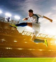 Dimex Soccer Player Vlies Fotobehang 225x250cm 3-banen