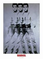 PGM Andy Warhol - Elvis 1963 Triple Kunstdruk 66x90cm
