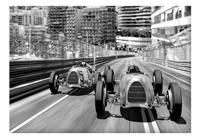 Artgeist Monte Carlo Race Vlies Fotobehang 350x245cm