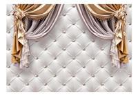 Artgeist Curtain of Luxury Vlies Fotobehang 350x245cm