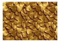 Artgeist Golden Leaves Vlies Fotobehang 400x280cm
