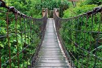 Dimex Footbridge Vlies Fotobehang 375x250cm 5-banen