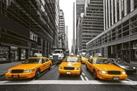Dimex Yellow Taxi Vlies Fotobehang 375x250cm 5-banen