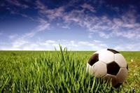 Dimex Soccer Ball Vlies Fotobehang 375x250cm 5-banen