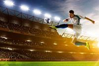 Dimex Soccer Player Vlies Fotobehang 375x250cm 5-banen
