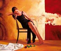 PGM Stephan Christoph - Wishful thoughts Kunstdruk 107x98cm