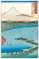 GBeye Hiroshige The Pine Beach at Miho Poster 61x91,5cm