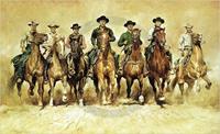 PGM Renato Casaro - The magnificent Seven Kunstdruk 100x61cm