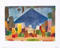PGM Paul Klee - Notte egiziana Kunstdruk 30x24cm
