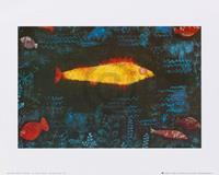 PGM Paul Klee - The golden fish, 1925 Kunstdruk 30x24cm