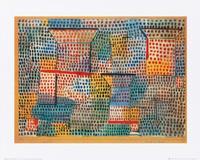 PGM Paul Klee - Kreuze und Säulen Kunstdruk 50x40cm