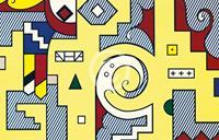PGM Roy Lichtenstein - American Composition II Kunstdruk 35.5x28cm