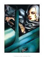 PGM Tamara De Lempicka - Self Portrait Kunstdruk 50x70cm