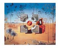PGM Salvador Dali - Sans titre Kunstdruk 50x40cm