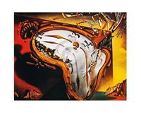 PGM Salvador Dali - Les montres molles Kunstdruk 50x40cm