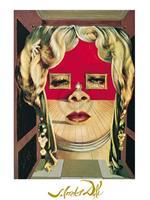 PGM Salvador Dali - Il volto di Mae West Kunstdruk 60x80cm