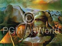 PGM Salvador Dali - L'enigme sans fin, 1938 Kunstdruk 80x60cm