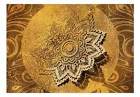 Artgeist Golden Illumination Vlies Fotobehang 100x70cm
