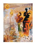 PGM Salvador Dali - El torero hallucinogene Kunstdruk 60x80cm