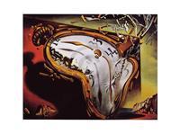 PGM Salvador Dali - Les montres molles Kunstdruk 80x60cm