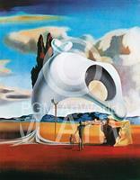 PGM Salvador Dali - Vestiges ataviques Kunstdruk 60x80cm